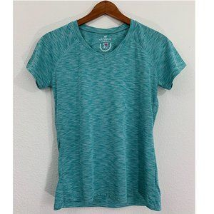 Athletic Collection V Neck Workout Yoga T-Shirt